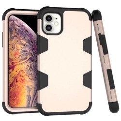 Iphone-11-Coque-anti-choc-doré