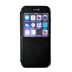 Iphone6-6S-Etuis fenêtre-Noir