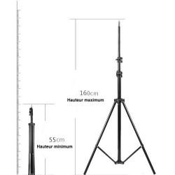 Trépied-55cm à 160cm