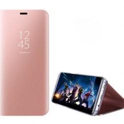Galaxy S9-Etui flip cover-Rose