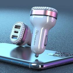 USB Triple-Chargeur-Allume...