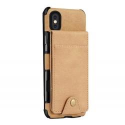 Iphone XR - Coque cartes-Beige