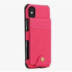 Iphone XR - Coque cartes-Rouge