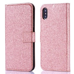 Iphone XR-Etuis Strass-Saumon