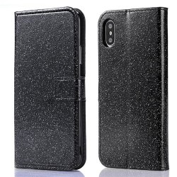 Iphone XR - Etuis Strass-Noir