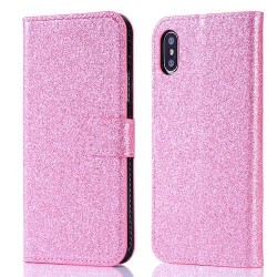 Iphone XR - Etuis Strass-Rose