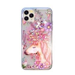 Iphone SE-8-7-Coque liquide...