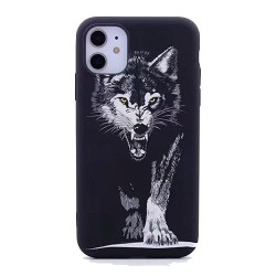 Iphone 11Pro-Coque loup