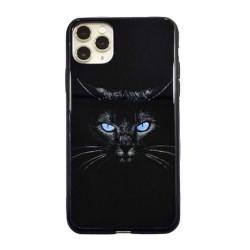 Iphone 11Pro-Coque chat noir