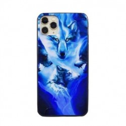 Iphone 11Pro-Coque Fauve-Loup