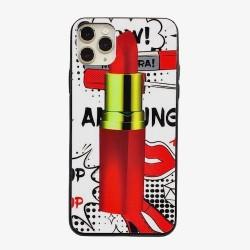 Iphone 11Pro-Coque rouge à...