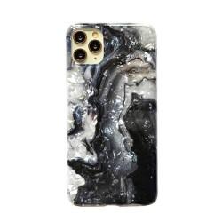 Iphone 11Pro-Coque Marbre noir