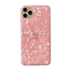 Iphone 11Pro-Coque Marbre rose