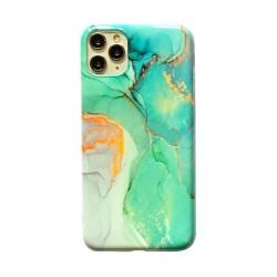 Iphone 11Pro-Coque Marbre vert