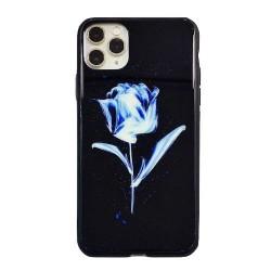 Iphone 11ProMax-Coque Fleur...