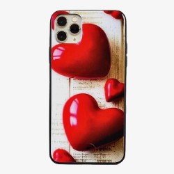 Iphone 11ProMax-Coque coeur...