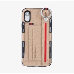 Coque IPhone X/XS-Cartes beige