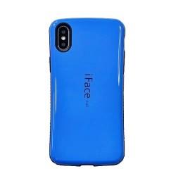 Coque Iphone X/XS-Robuste Bleu