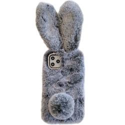 Iphone 11-Coque lapin gris
