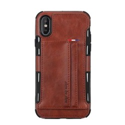 Iphone XS Max - Coque cuir...