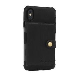 Coque Iphone XSMAx-Cartes Noir