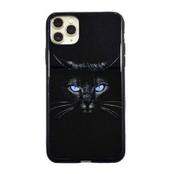 Iphone-11-Coque-panthère-noir