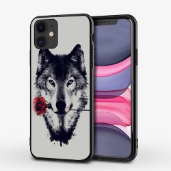 Iphone 12-12Pro-Coque loup