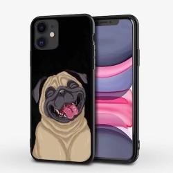 Iphone 12mini-Coque chien