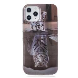 Iphone 12mini-Coque chat